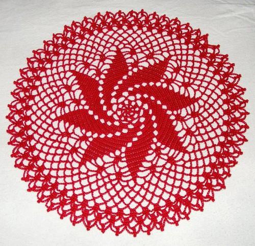 CENTERPIECE CROCHET DOILIES FREE INSTRUCTIONS PATTERN – Crochet Patterns