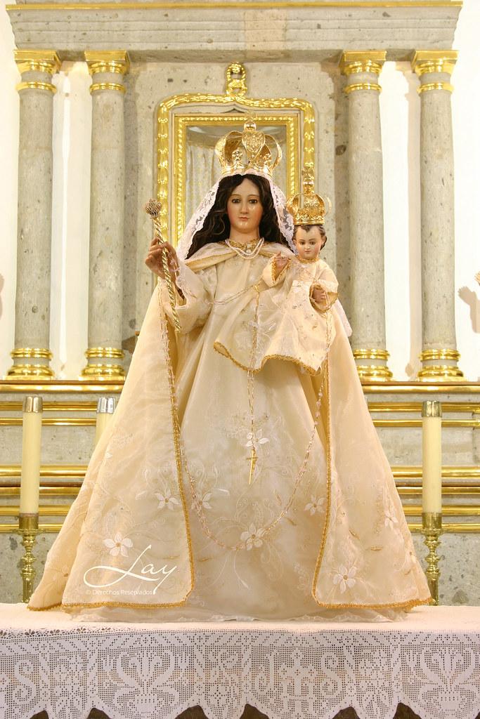 © Lay ( fotos de la parroquia de Toluquilla, Virgen )