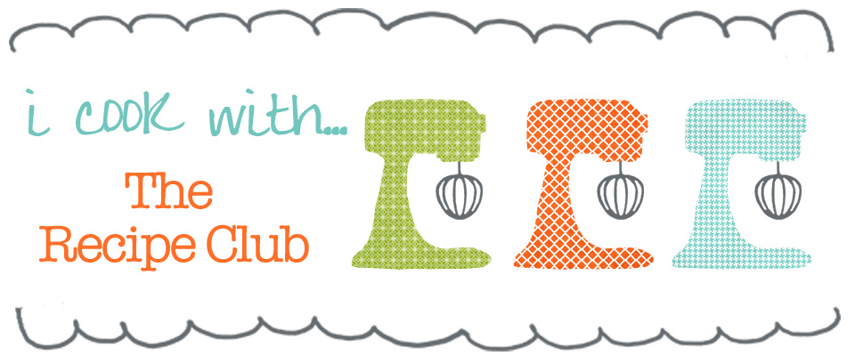 recipe club blog banner