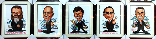 Caricature for GC Asia Dental - 5 frames