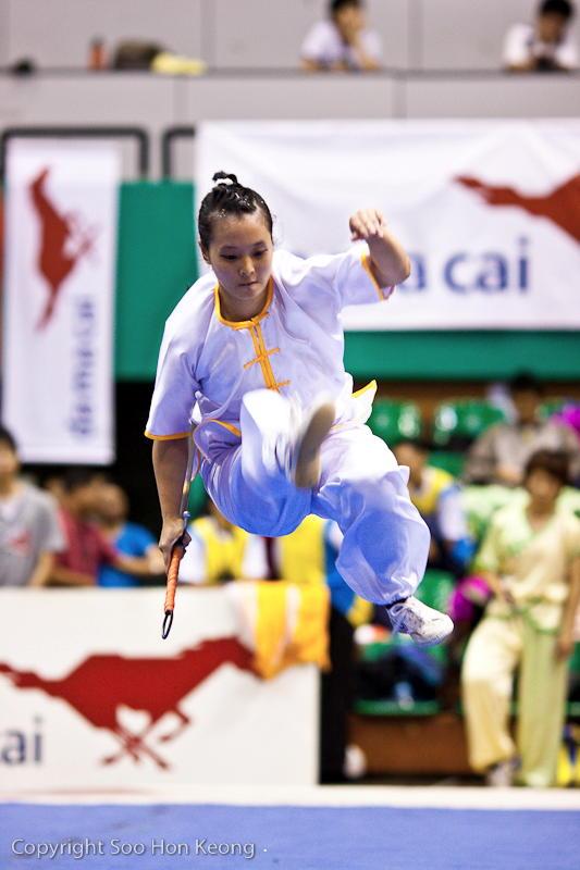 Wushu Competition (Jump) @ KL, Malaysia