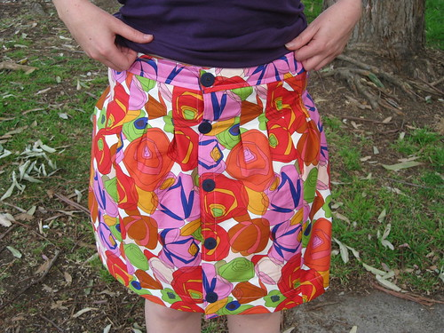 Sew Hip Skirt, close up