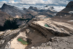 The Joy of Wandering High in the Alpine (Marc Shandro) Tags: summer nature rockies high pond alpine wilderness tarn freshwater banffpark photoshelter waptaicefield visipix
