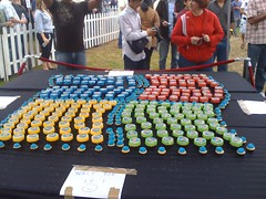 Windows Logo Cupcakes