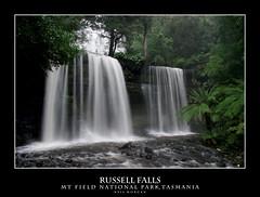 Russell Falls (knumbnutz) Tags: snow water waterfall russell pentax falls tasmania k20d da1650 justpentax