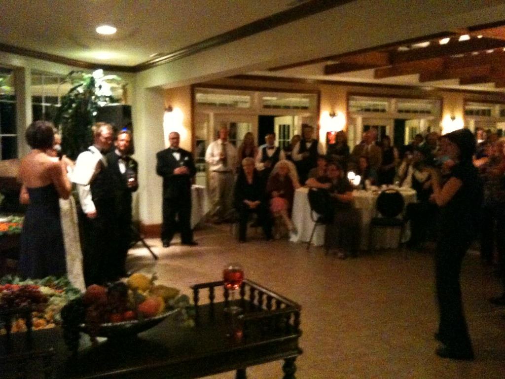 Wedding at Prince Michael Vineyard on 9/5/09