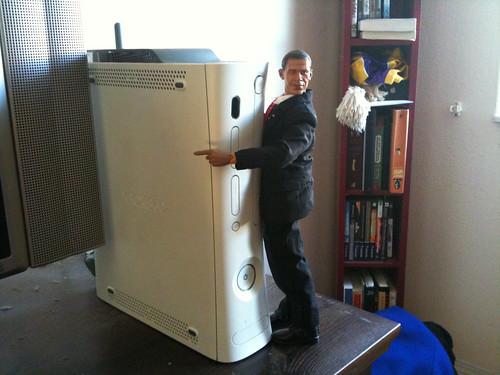 Obama loves xbox 360