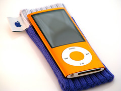 iPod nano 5G (purplelime) Tags: ipodnano 5g videocamera apple orange 16gb