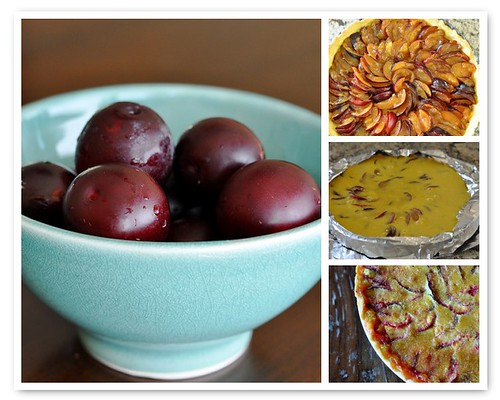 Making the Wild Plum Tart