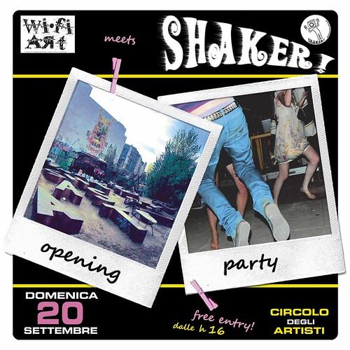 SHAKER! 20 SETT FRONT WEB