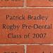 Patrick Bradley Rugby Pre-Dental Class of 2007
