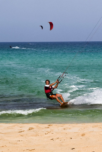 kite surf por -Luisfer-.