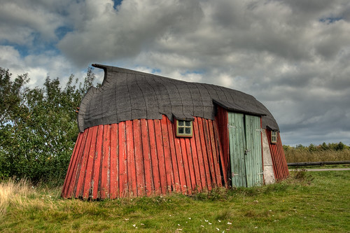 the red (boat) shed