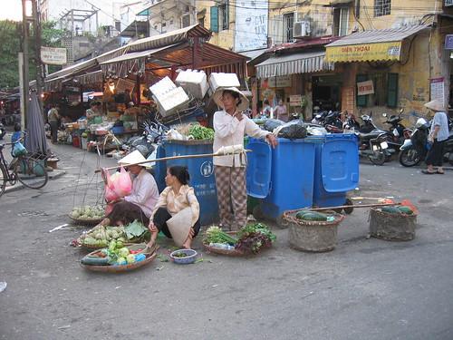 Puestos en Hanoi