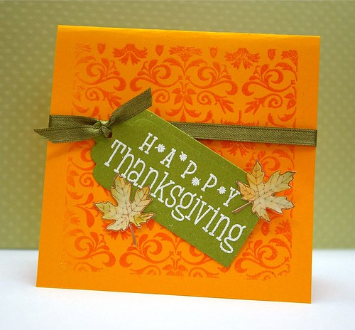 Thanksgiving card set 1