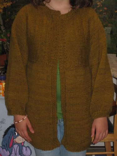 Comfy coat front