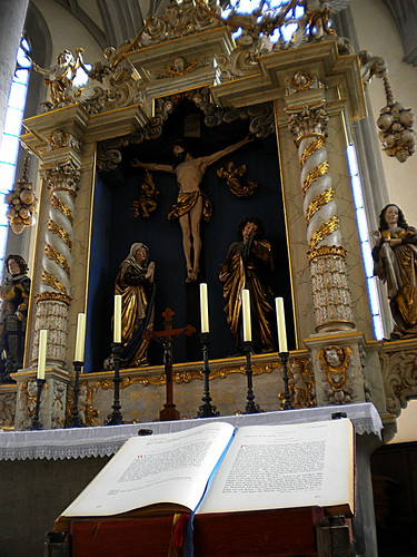 Baroque High Altar, St. George Church, Nordlingen