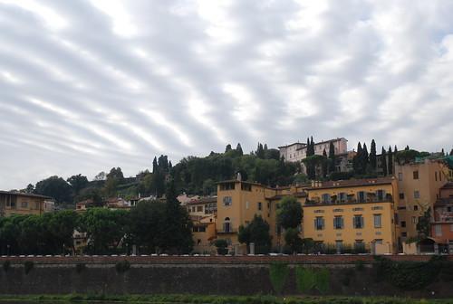 Zig zag sky in Florence