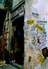 Shopfront in Stone Town, Zanzibar [zan06]