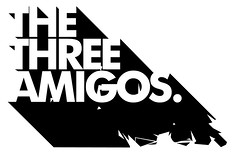 Three Amigos (Emerge Studios) Tags: uk music amigos logo design three brighton graphic identity hiphop studios threeamigos branding emerge emergestudios