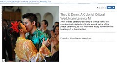 Real Weddings Feature screenshot of american wedding justice of peace ceremony, click to enlarge