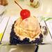 Belgian Chocolate Champorado with Raspberry Ice Cream