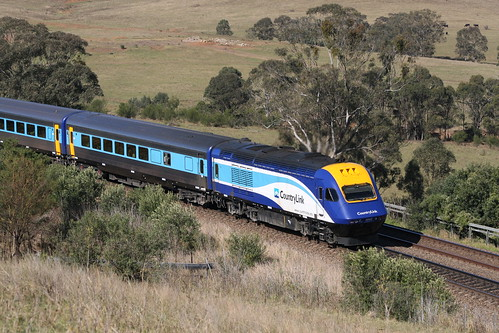 Country Link XPT power car
