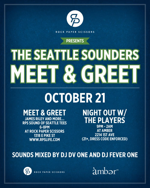 Seattle Sounders Meet & Greet