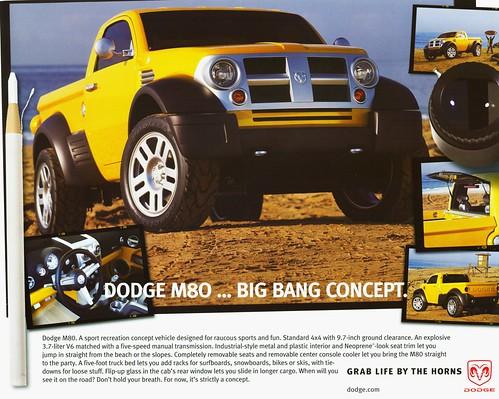 2002 Dodge M80 Concept Truck