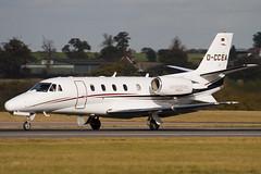 D-CCEA - 560-5593 - Windrose Air - Cessna 560XL Citation XLS - Luton - 091023 - Steven Gray - IMG_2903