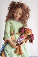 Toki, my new Himstedt (MiriamBJDolls) Tags: doll vinyl afroamerican dolly limitededition 2007 toki annettehimstedt himstedtkinder summerkinder