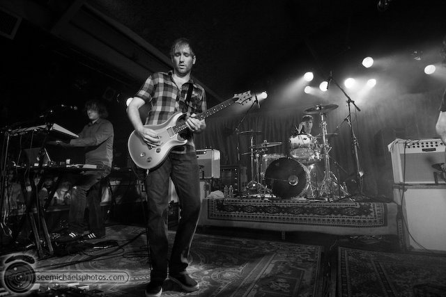 Minus the Bear at Belly Up 110209 © Michael Klayman-024