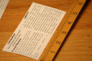 Make your own product hang tags for your handmade goods