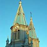 Cuenca: Torres de la Iglesia de San Alfonso