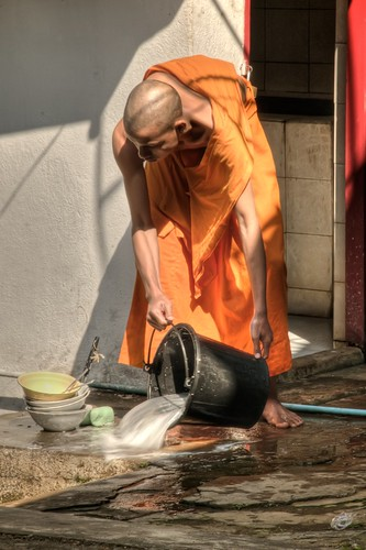 Busy Monk