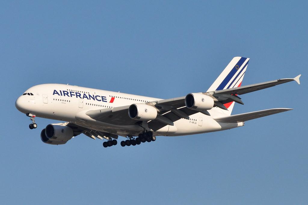Air France - Airbus A380-800 - F-HPJA - John F. Kennedy International Airport (JFK) - November 20, 2009 048 RT CRP