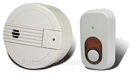 Z-Wave Smoke Detector and Siren