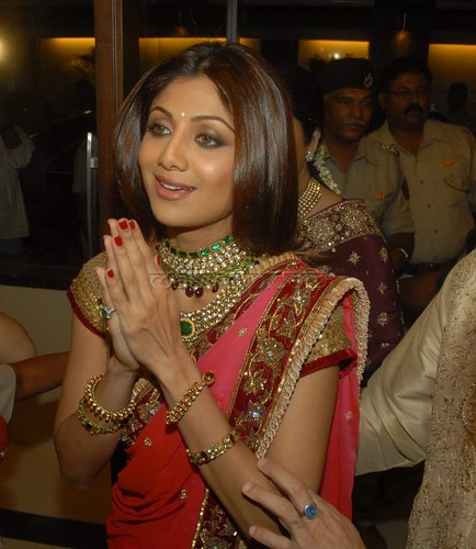 Shilpa Shetty in bridal costume