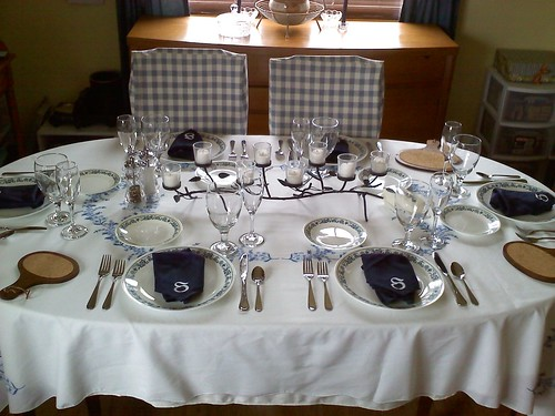 Pretty Thanksgiving Table :)
