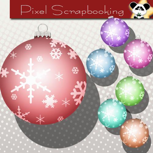 Digital Scrapbooking Christmas Freebie