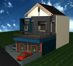 Desain-Rumah-Tinggal-Minimalis by Indograha Arsitama Desain &  Build