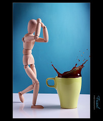 OMG ! (Faisal | Photography) Tags: blue ikea cup coffee speed canon photography eos high explore l usm omg frontpage 2009 f28 canonef2470mmf28lusm ef 2470mm 50d explore1 canoneos50d faisal|photography  splashmrwoody