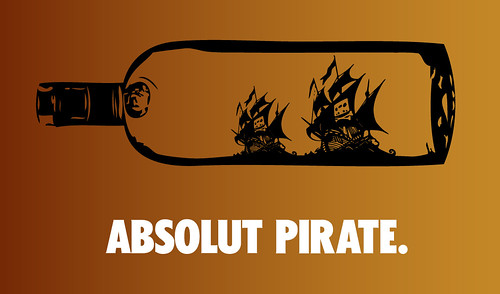 ABSOLUT PIRATE.