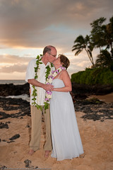 Linda&Don Maui -5269 (Mike Rosati Photography) Tags: ca wedding sunset andy hawaii secretbeach maui rosati makenacove lindamorgan donzacharias