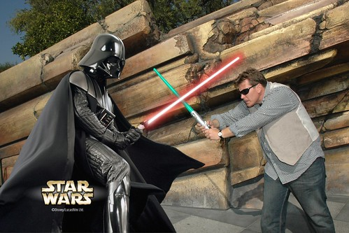 Fighting Darth Vader in Tomorrowland