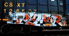 rumor (mightyquinninwky) Tags: graffiti streak tag graf tags ps chub tagged railcar sit boxcar graff graphiti rumor trainyard fs buffed csx trainart paintedtrain freightyard railart spraypaintart csxt moniker reflectivetape taggedtrain paintedsteel boxcarart evansvilleindiana fstv wafflecar taggedboxcar paintedboxcar csxtrainyard howellfreightyard evasnvilleindiana