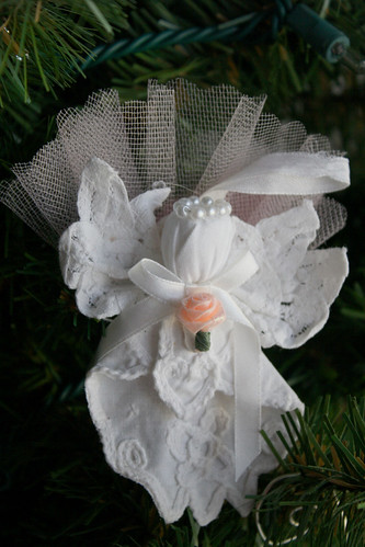 Hankerchief Angel Ornament