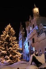 stadhuis (mechelenblogt_jan) Tags: christmas weihnachten sneeuw noël mechelen stadhuis grotemarkt kerstmis kerstboom kerstmarkt