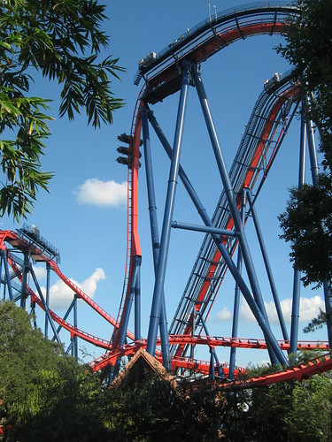 I was able to ride Sheikra, which instantly jumped into my Top 10 list of