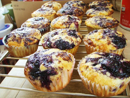 blueberry muffins (cook's illustrated) - 16